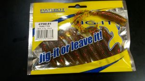 Patriot Jig-it Curly Tail 9cm  # 81 10kpl