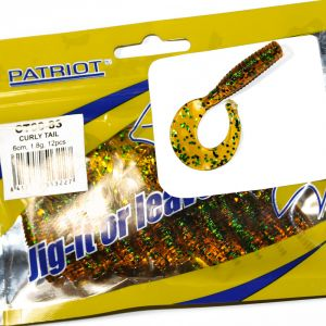 Patriot Jig-it Curly Tail 9cm #83 10 kpl